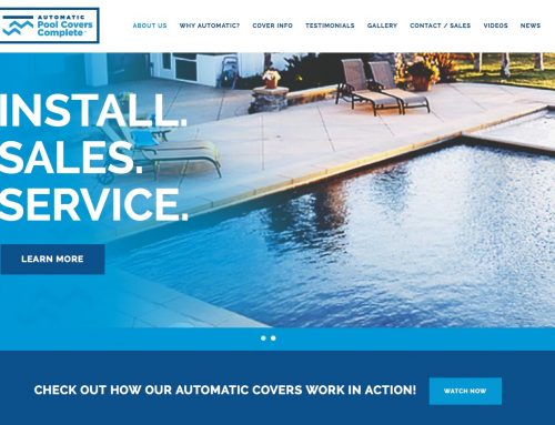 Automatic Pool Covers Complete launches their new website.